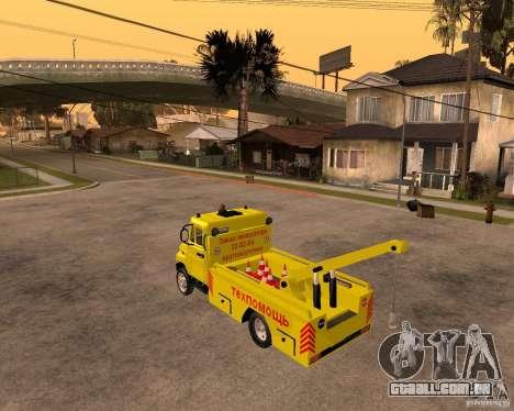 Transportador de ZIL 5301 Bull para GTA San Andreas