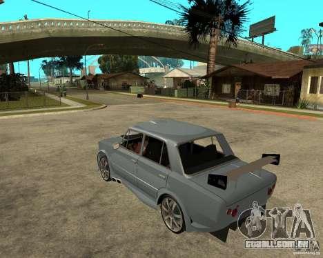 2101 VAZ carro TUNING por ANRI para GTA San Andreas esquerda vista