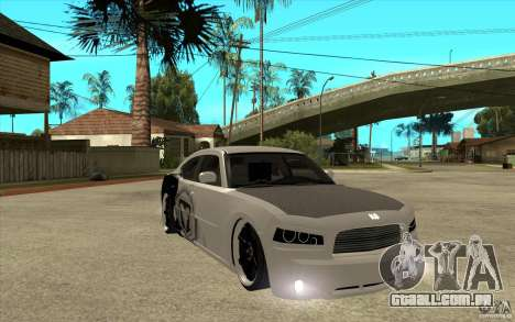 Dodge Charger SRT8 Tuning para GTA San Andreas vista traseira