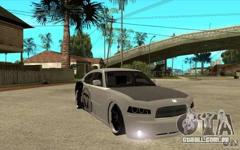 Dodge Charger SRT8 Tuning para GTA San Andreas vista traseira