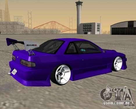 Nissan Silvia S13 Nismo tuned para GTA San Andreas esquerda vista