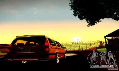 Volvo 850 R Taxi para GTA San Andreas vista direita