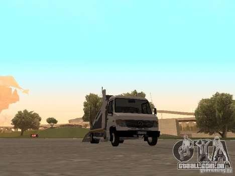 Mercedes-Benz Vario para GTA San Andreas esquerda vista