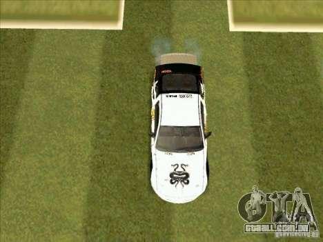 Ford Mustang Drag King from NFS Pro Street para GTA San Andreas vista interior