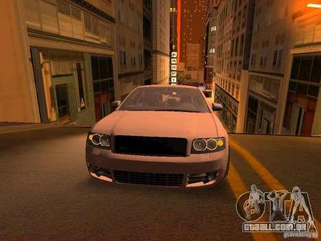 Audi S4 OEM para GTA San Andreas vista inferior