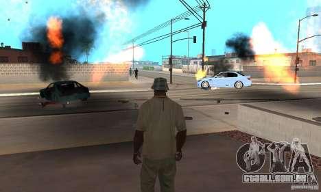 Hot adrenaline effects v1.0 para GTA San Andreas décimo tela