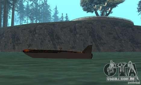 Human Viper para GTA San Andreas traseira esquerda vista