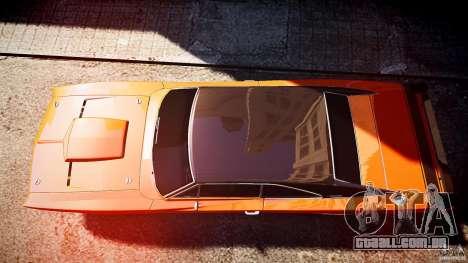 Dodge Charger RT 1969 esportes de v 1.1 tun para GTA 4 vista direita