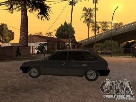 VAZ 21093 para GTA San Andreas vista direita