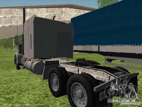 Freightliner FLD120 Classic XL Midride para GTA San Andreas vista direita