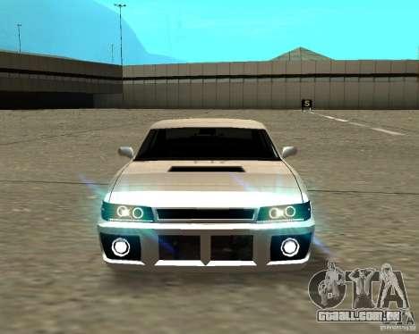 Azik Sultan para GTA San Andreas vista traseira
