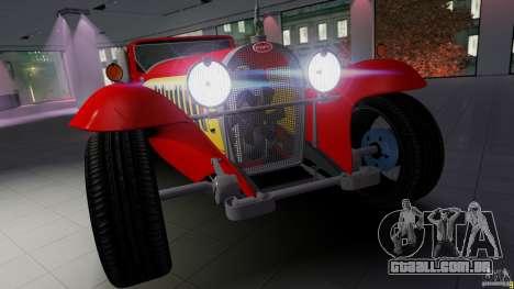 Bugatti Type 41 Royale Coupe Napoleon 1927 para GTA 4 traseira esquerda vista
