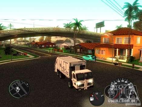 Limpador de GTA 4 para GTA San Andreas esquerda vista