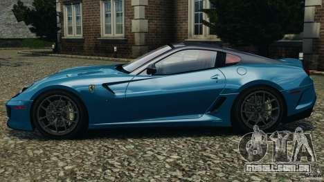 Ferrari 599 GTO 2011 para GTA 4 esquerda vista