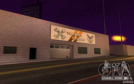 HQ Auto Salon em San Fierro exclusivo Autos para GTA San Andreas terceira tela
