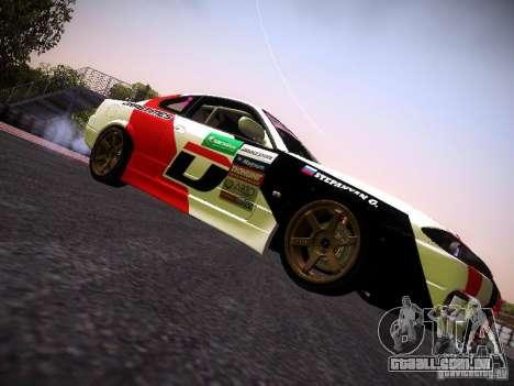 Nissan Silvia S15 DragTimes v2 para GTA San Andreas vista direita