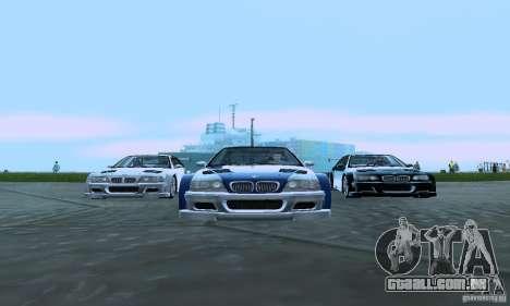 ENB Reflection Bump 2 Low Settings para GTA San Andreas