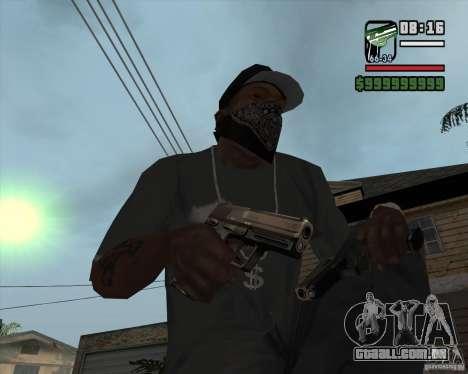 9mm x 19 para GTA San Andreas