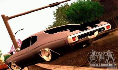 Chevrolet Chevelle 1970 para o motor de GTA San Andreas
