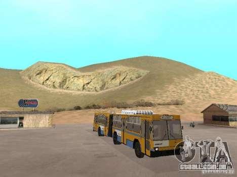 YUMZ T1 para vista lateral GTA San Andreas
