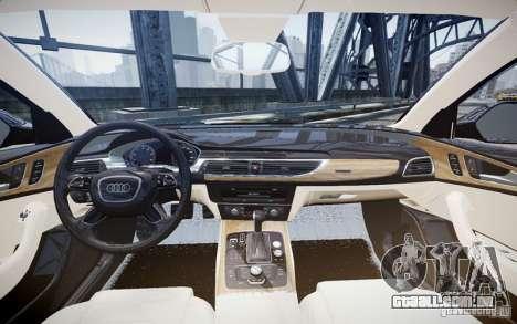 Audi A6L para GTA 4 esquerda vista