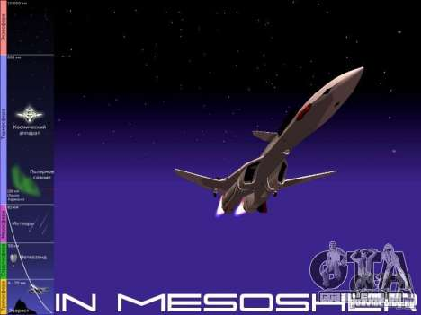 A mesosfera em vôo para GTA San Andreas