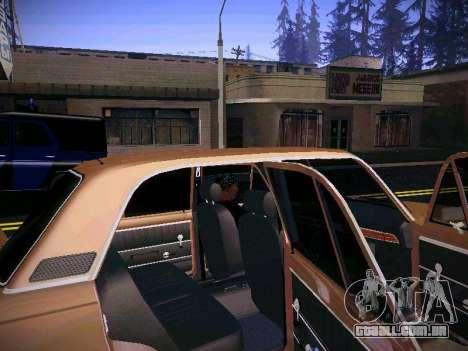 VAZ 21011 para GTA San Andreas vista interior
