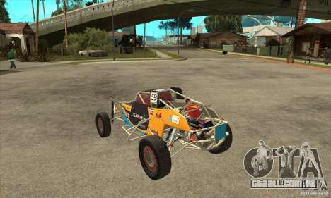 Dirt 3 Stadium Buggy para GTA San Andreas traseira esquerda vista