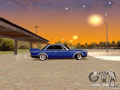 BMW 30 CSL Drift para GTA San Andreas esquerda vista