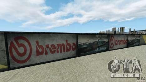 Dakota Raceway [HD] Retexture para GTA 4 sexto tela
