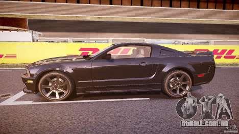 Saleen S281 Extreme Unmarked Police Car - v1.1 para GTA 4 esquerda vista