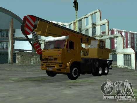 KAMAZ 65117 Ivanovets para GTA San Andreas esquerda vista
