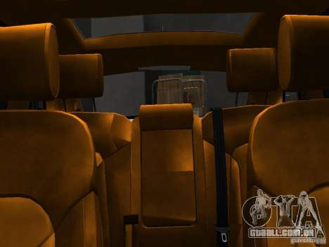 Audi Q7 V12 TDI Quattro Final para GTA 4 vista superior