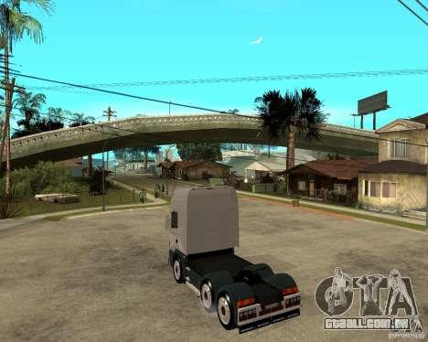 Scania 164L 580 para GTA San Andreas esquerda vista