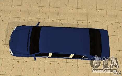Mercedes-Benz S600 Pullman W220 para GTA San Andreas vista direita