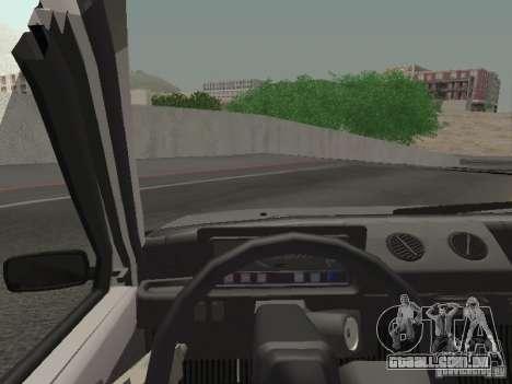 Proteína de Oka VAZ 1111 para GTA San Andreas traseira esquerda vista