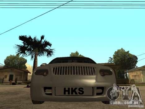 Skoda Octavia Custom Tuning para GTA San Andreas vista direita