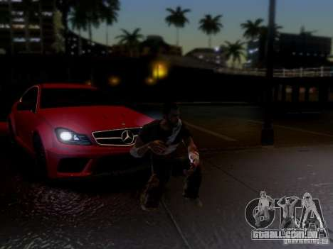 Mercedes Benz C63 AMG C204 Black Series V1.0 para vista lateral GTA San Andreas