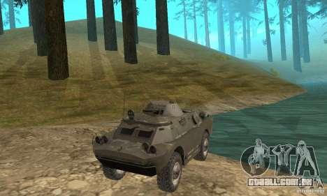Versão de inverno BRDM-2 para GTA San Andreas