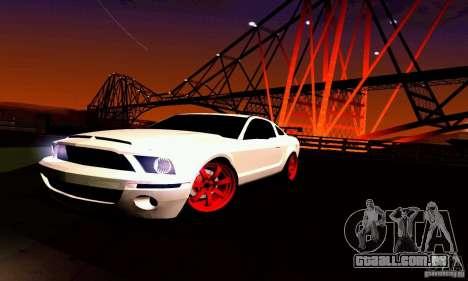 Shelby GT500 KR para o motor de GTA San Andreas