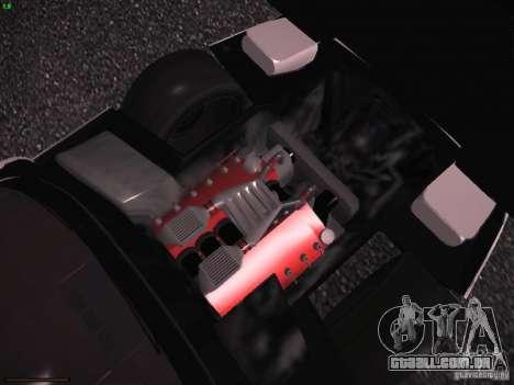Chevrolet Corvette Grand Sport para GTA San Andreas vista inferior