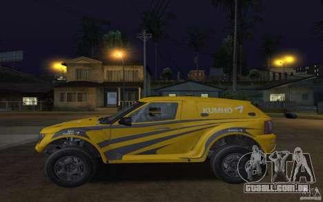 Bowler Nemesis para GTA San Andreas esquerda vista