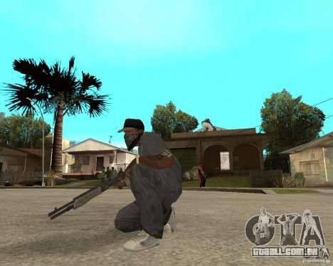 SPAS-12 para GTA San Andreas terceira tela