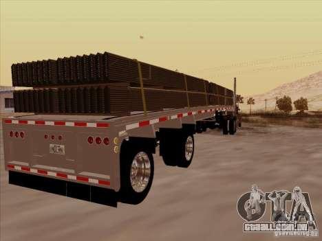 Trailer Artict1 para GTA San Andreas vista direita