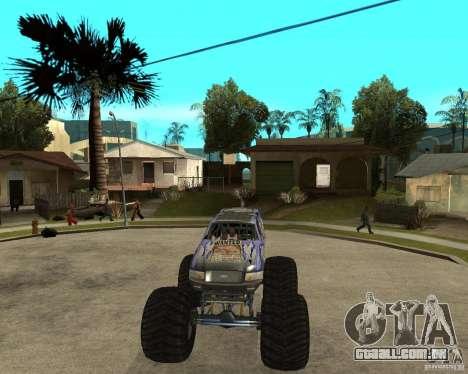 Bounty Hunter para GTA San Andreas vista traseira