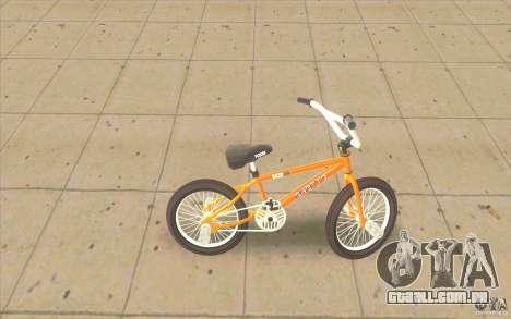 K2B Ghetto BMX para GTA San Andreas esquerda vista