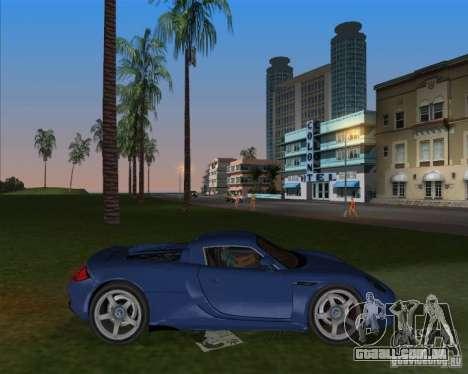 Porsche Carrera GT para GTA Vice City deixou vista