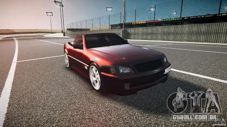 Mercedes Benz SL500 Custom para GTA 4 vista de volta