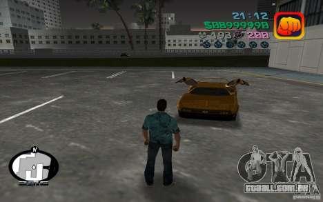Delorean DMC-13 para GTA Vice City deixou vista
