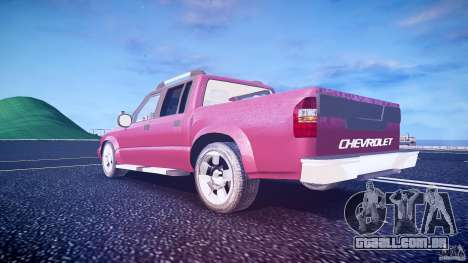 Chevrolet S10 para GTA 4 vista inferior